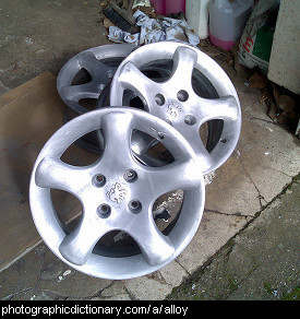 Photo of alloy wheels