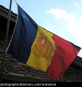 Photo of the Andorra flag