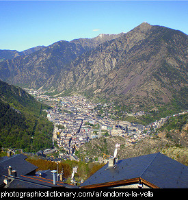 Photo of Andorra la Vella, Andorra