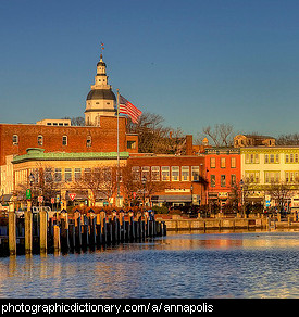 Photo of Annapolis Maryland