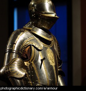 Photo of a suit of armour