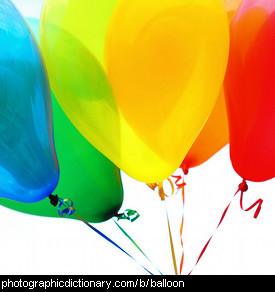 Photo of some balloons