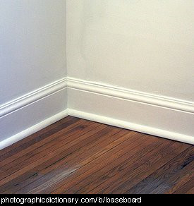 Photo of some baseboards