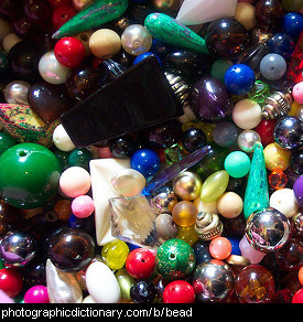 Photo of assorted beads.