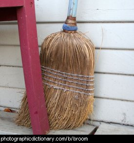 Photo of a broom