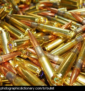 Photo of bullets.