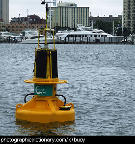 Photo of a buoy