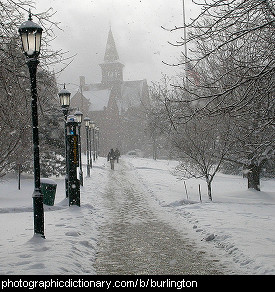 Photo of Burlington, Vermont