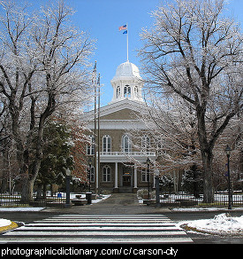 Photo of Carson City, Nevada