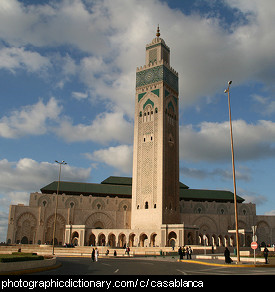 Photo of the Mezquita de Hassan II, Casablanca, Morocco