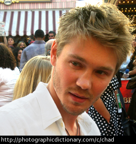 Actor Chad Michael Murray.