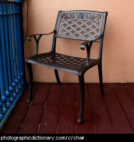 Photo of a chair