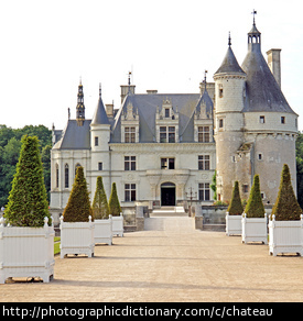 A chateau in France.