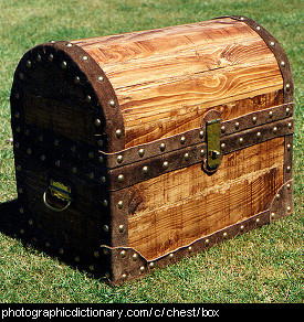 Photo of a treasure chest