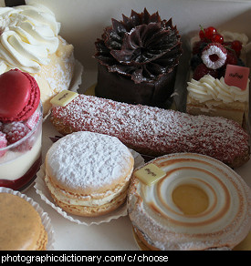 Photo of some cakes
