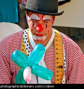 Photo of a clown