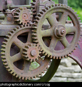 Photo of gears and cogs