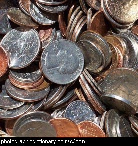 Photo of coins