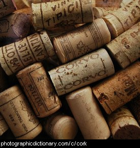 Photo of bottle corks