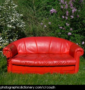 Photo of a couch