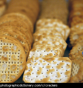 Photo of crackers