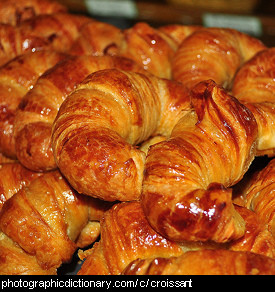 Photo of a croissant