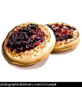 Photo of crumpets