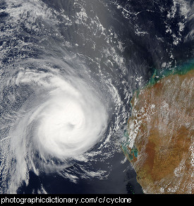 photo of a cyclone