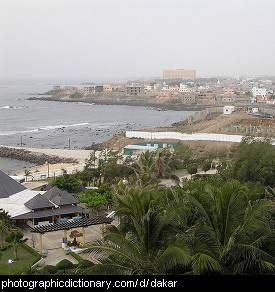 Photo of Dakar, Senegal