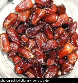 Photo of date fruit