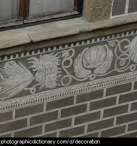 Photo of decorative trim
