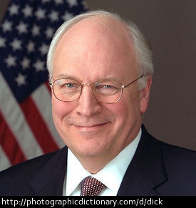 Former US Vice President Dick Cheney.