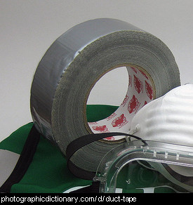 Photo of a roll of duct tape