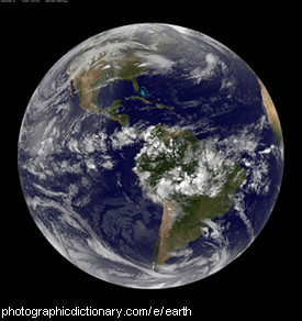 Photo of the planet Earth