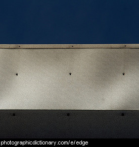 Photo of the edge of a building