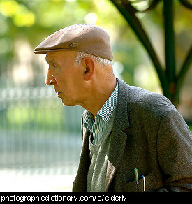 Photo of an elderly man