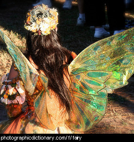 Photo of a fairy