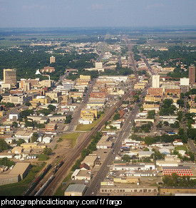 Photo of Fargo, North Dakota