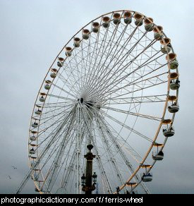 Photo of a ferris wheel
