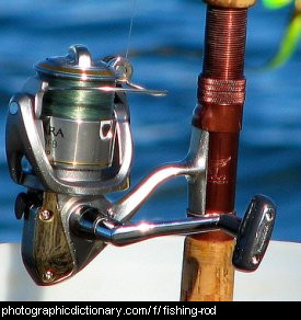 Photo of a fishing rod