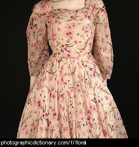 Photo of a floral dress