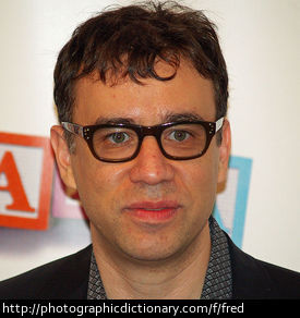 Actor Fred Armisen.
