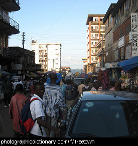 Photo of Freetown, Sierra Leone