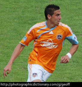 Soccer player Geoff Cameron.