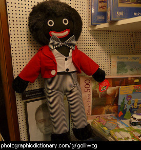 Photo of a golliwog