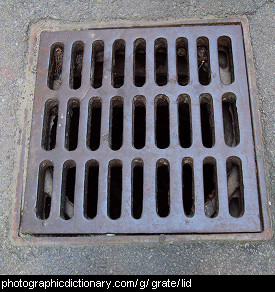 Photo of a grate