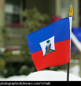 Photo of the Haiti flag