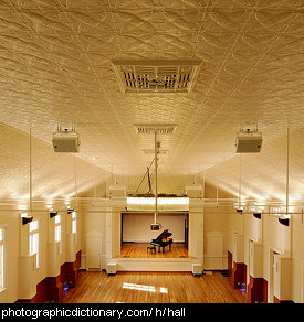 Photo of a hall