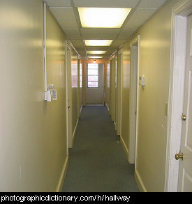 Photo of a hallway