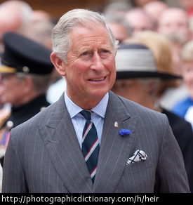 Prince Charles is heir to the throne of England.